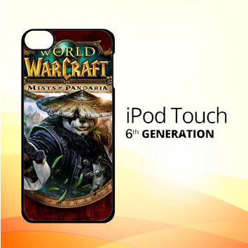 World of Warcraft Guardian Druid Mists of Pandaria Z0652 iPod Touch 6 Case