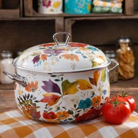 The Pioneer Woman 4-Quart Timeless Floral Casserole with Lid - Walmart.com