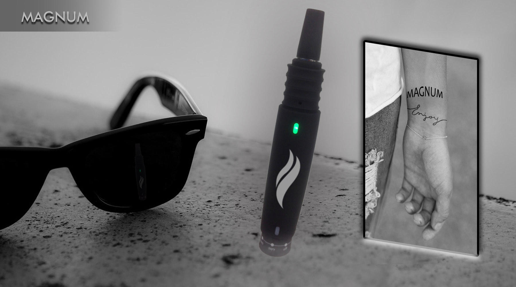 Dry Herb Vaporizer Pen MAGNUM from puri5.us ab6017669