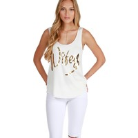 White Wifey Tank Top