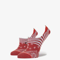 Stance Bandito Womens Super Invisible Socks Red One Size For Women 25253430001