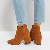 RAID Kola Block Heeled Ankle Boots at asos.com