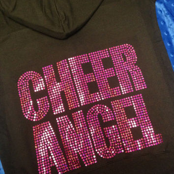 Cheer Angel Jacket/Sweatshirt with Hood (8 colors)