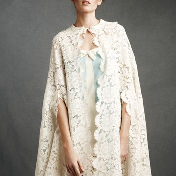 Duchess Lace Cape in the SHOP New at BHLDN