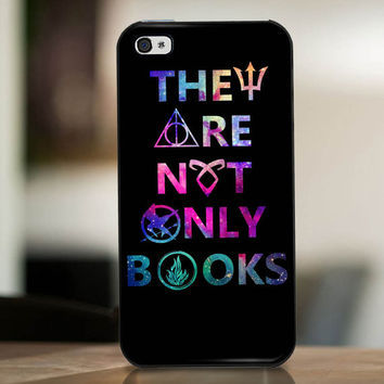 They Are Not Only Books - cover case for iPhone 4|4S|5|5C|5S|6|6 Plus Note 2|3 Samsung Galaxy s3|s4|s5 Htc One M7|M8