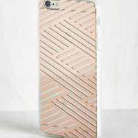 ModCloth Shine on the Line iPhone 6 Plus Case in Copper