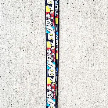 Disney Inspired Mickey Mouse Lanyard, Mouse Lanyard, Mickey Lanyard, Pin trading Lanyard, ID holder, Accessories, Key Holder