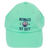 Mermaid Off Duty Cap in Mint by Jadelynn Brooke