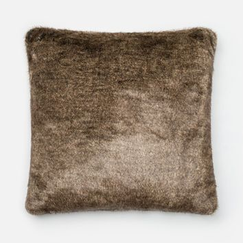 Loloi Lt. Brown Decorative Throw Pillow (P0267)