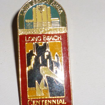 Long Beach Area Chamber Of Commerce Long Beach Centennial Pin