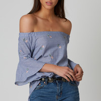 Whip Into Shape Off Shoulder Top