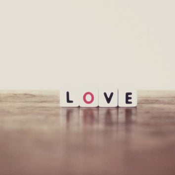 love, valentine, typography, fine art photography
