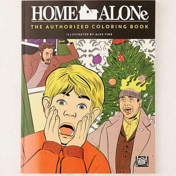 Home Alone: The Authorized Coloring Book By Twentieth Century Fox - Urban Outfitters