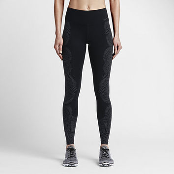 The Nike Legendary Engineered Tidal Tight Women's Training Tights.