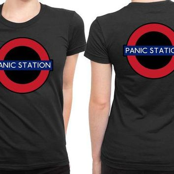 DCCKG72 The Muse Panic Station 2 Sided Womens T Shirt