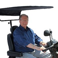 Challenger Sunshade Canopy J600 - Challenger Accessories Canopies | TopMobility.com