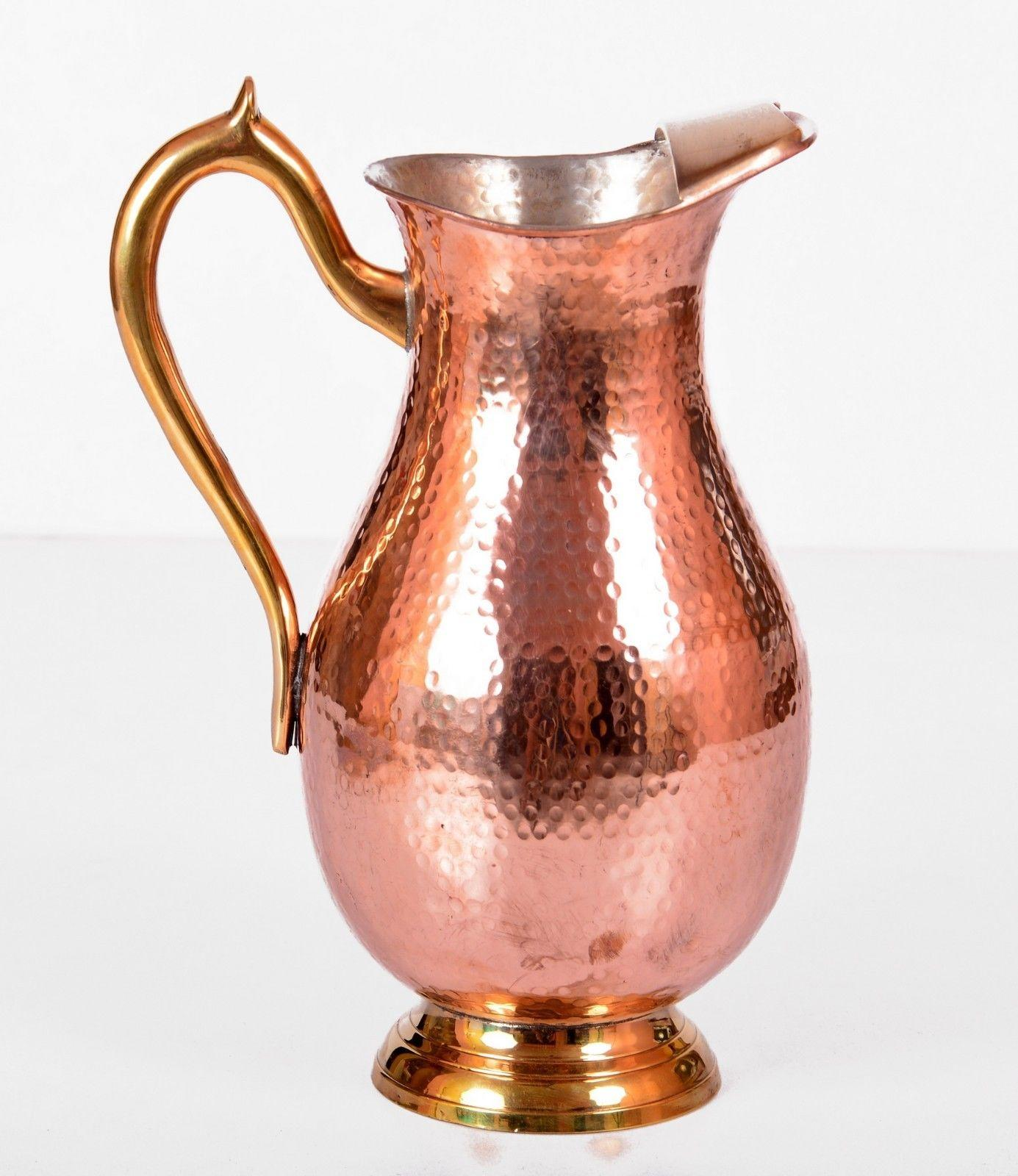 Indian Brass Copper Water Jug Health From Jaipurkalakendra On