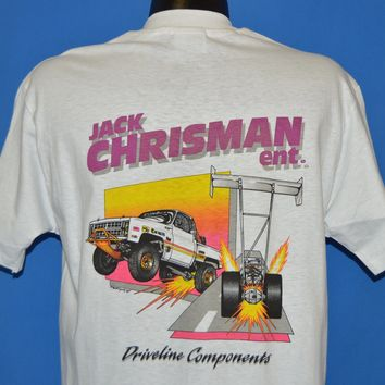 80s Drag Racing Jack Chrisman Enterprises t-shirt Large