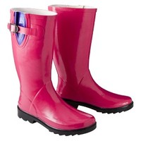 Women's Merona® Zora Rain Boot - Berry