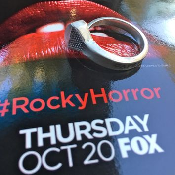 Riff Raff's Coffin Nail Ring (Rocky Horror Picture Show on Fox TV)