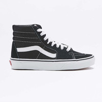 Vans Sk8-Hi Black Suede Trainers - Urban Outfitters