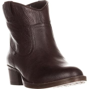 Kenneth Cole REACTION Hot Step Western Boots, Cocoa, 7 US / 37.5 EU