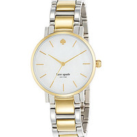 kate spade new york Two-Tone Gramercy Bracelet Watch - Silver/Gold