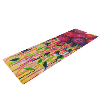 "Ebi Emporium ""Roses are Red"" Yoga Mat"