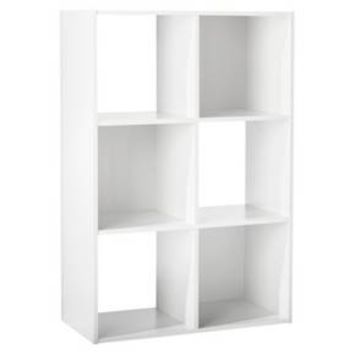 "6-Cube Organizer Shelf 11"" - Room Essentials™ : Target"