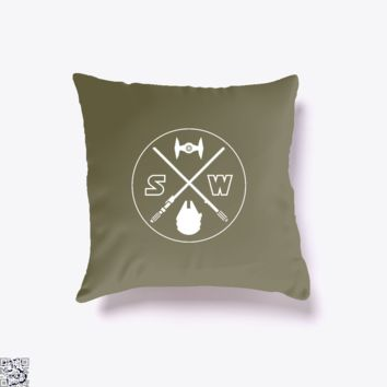 Star X Wars, Star Wars Throw Pillow Cover