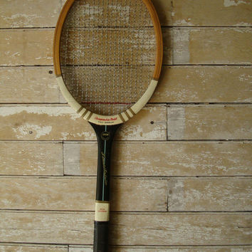 Vintage  Wooden Tennis Racket Championship Model  Awesome