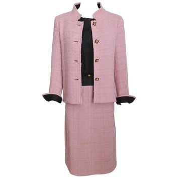 Chanel 1963 Haute Couture Pink Suit - Documented