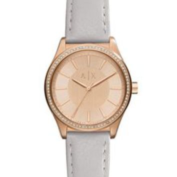 Armani Exchange ROSE GOLD GLAM WATCH, Watch for Women - A|X Online Store