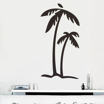 Vinyl Wall Art Decal Sticker Palm Tree Decoration #133