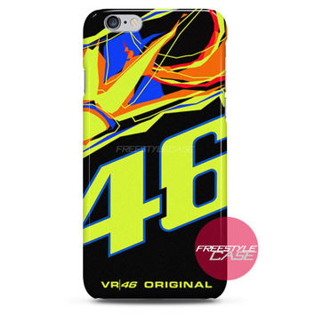 Valentino Rossi VR46 Sun Moon Soleluna iPhone Case 3, 4, 5, 6 Cover