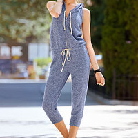 French Terry Sleeveless Jumpsuit - Victoria's Secret