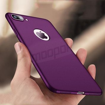 luxury Hard Plastic Case For iPhone 8 7 Plus 6 5s 5 Ultra thin Hard PC Cases Cover For iPhone 7 8 6 6S Plus Phone Case Capa