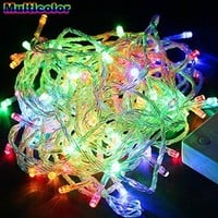 xtf2015 Multi-color 20m Abt.66ft 200led Bulbs Pretty Holiday Fairy Light String Lights for Wedding Party Christmas Decoration Waterproof