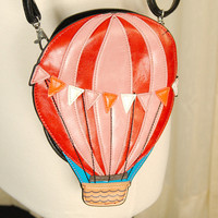 Hot Air Balloon Crossbody Bag