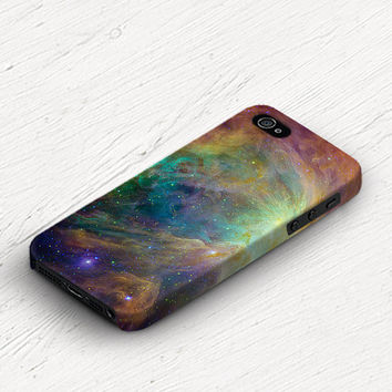 Galaxy iPhone 4 case, galaxy iPhone 4 / 4s case, iphone 5 case, case for iphone 4 4s 5 nebula starry surreal rainbow iphone4 case (c137)