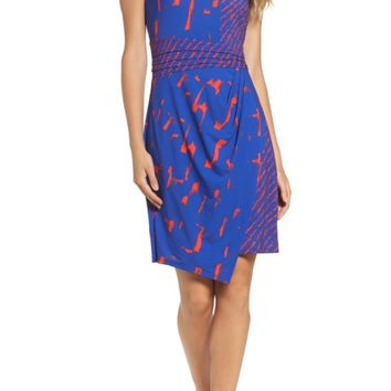 BCBGMAXAZRIA Natala Asymmetrical Dress | Nordstrom