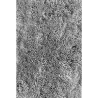 LA Rugs Soft Shaggy Collection Gray Area Rug