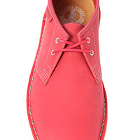 The Jink Shoe in Red Nubuck