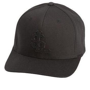 Licensed Golf Linksoul  2017 LS Embroidery Flexfit Cap Hat LS860 - Black