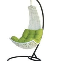 Birgitte - Balance Curve Porch Swing Chair - Model - DL021WHT
