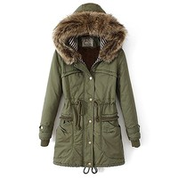 Partiss Warm Thickened Winter Coat