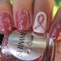 Shimmer Nail Polish - Vicki (Breast Cancer Awareness and Research)
