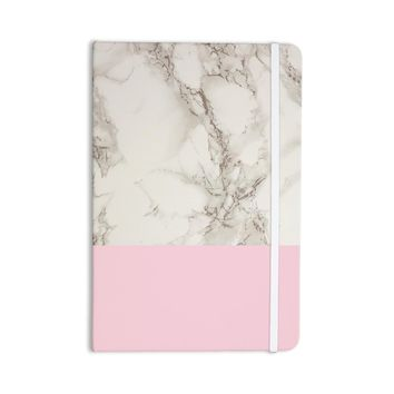 Suzanne Carter Marble And Pink Block Modern Contemporary Everything Notebook