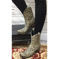 Cowgirl Kim by Lane Exclusive Saratoga Stud Leopard Shorties~ LB0411J