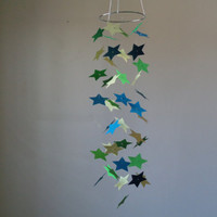 FREE US SHIPPING! Star paper mobile. Baby Nursery mobile,Crib mobile,Happy Birthday, Boy/Girl/Teen/Tween, Choose your colors!